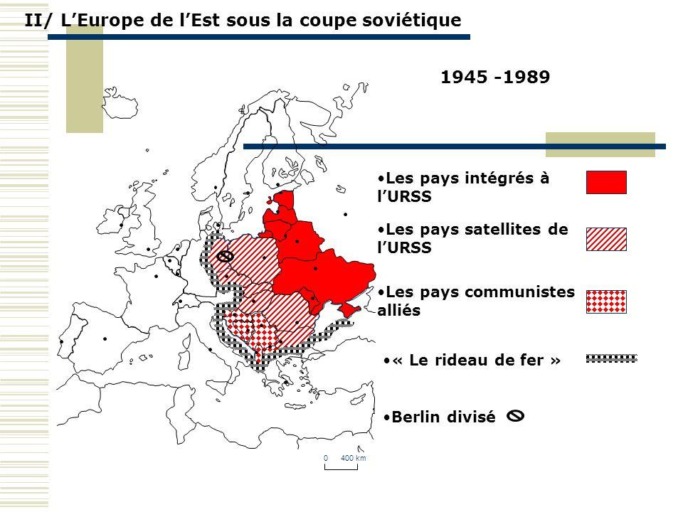 II/ L'Europe de l'Est sous la coupe soviétique