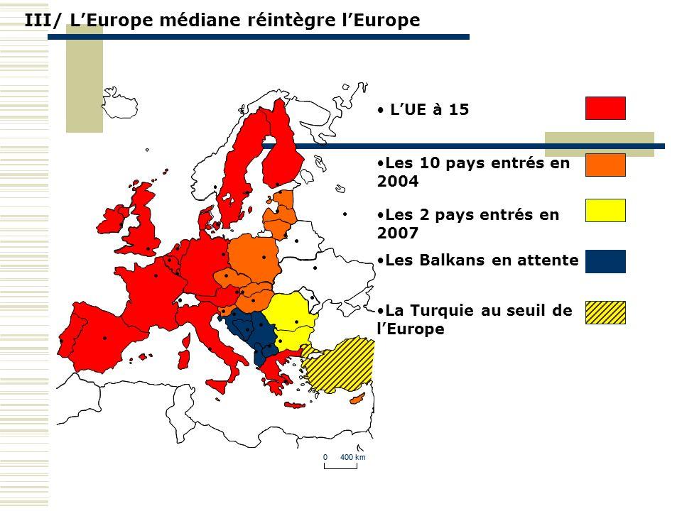 III/ L'Europe médiane réintègre l'Europe