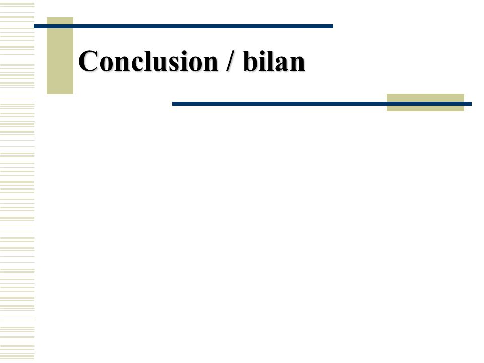 Conclusion / bilan Depuis 2000 ans dans la région : frontière, empires, exclusion, différenciation