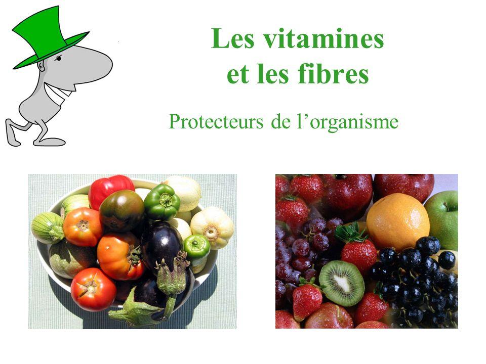 Les vitamines et les fibres