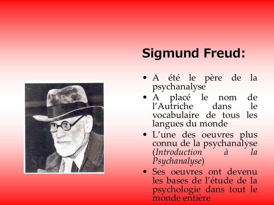 Sigmund Freud: A été le père de la psychanalyse