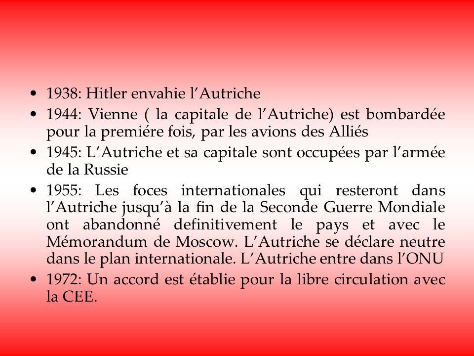 1938: Hitler envahie l'Autriche