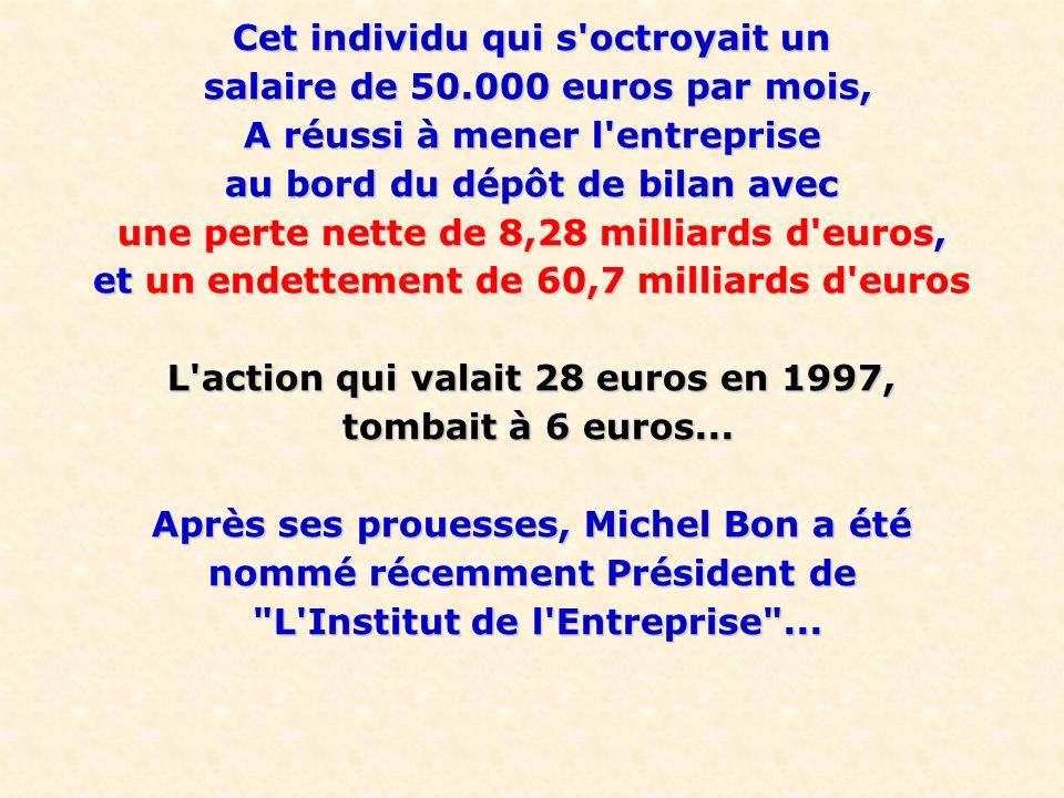 Cet individu qui s octroyait un salaire de 50.000 euros par mois,