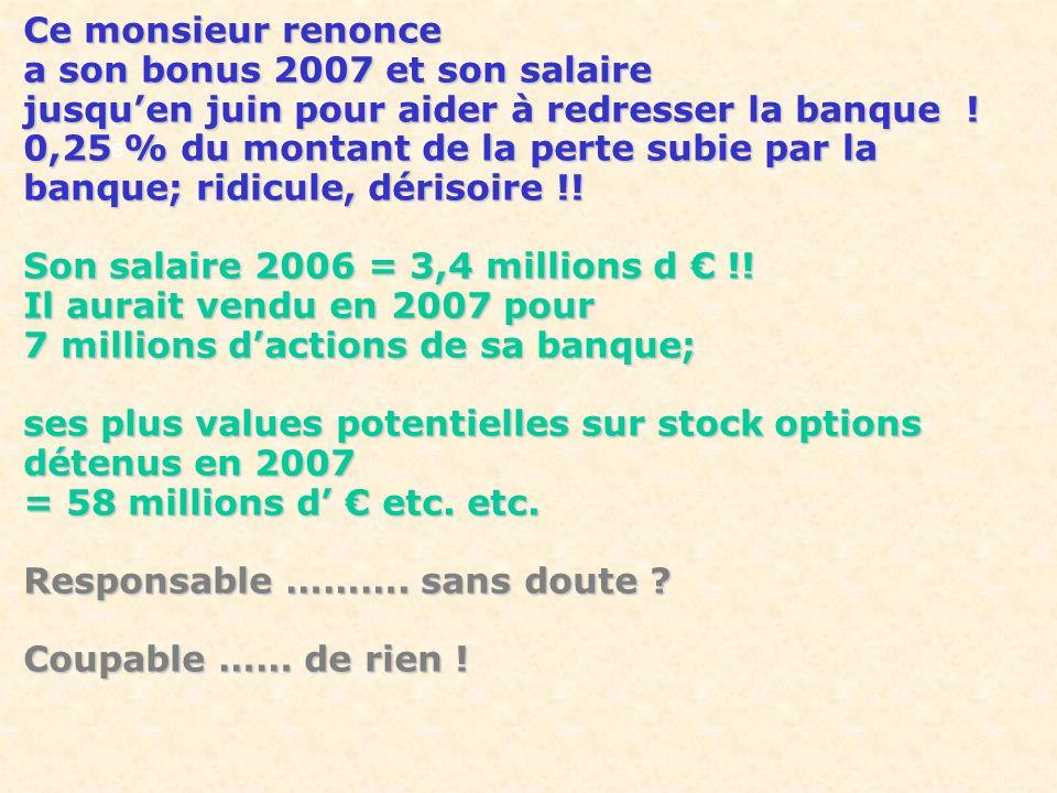 a son bonus 2007 et son salaire
