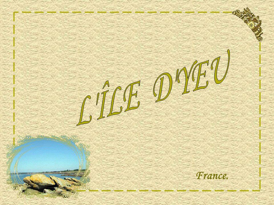 L ÎLE D YEU France.