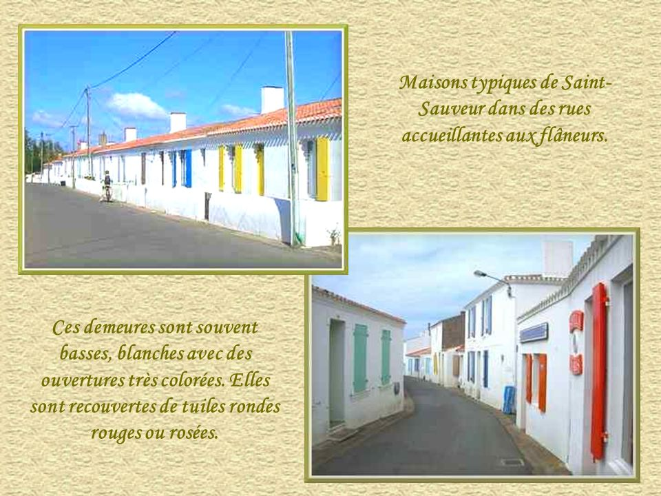 Maisons typiques de Saint-Sauveur dans des rues accueillantes aux flâneurs.