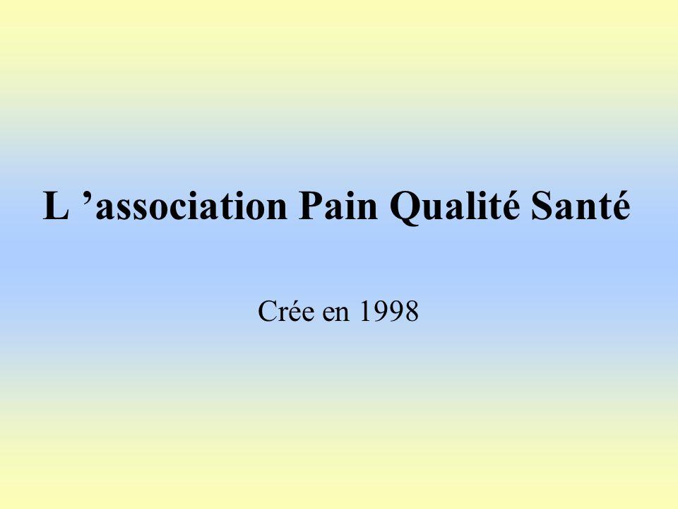 L 'association Pain Qualité Santé