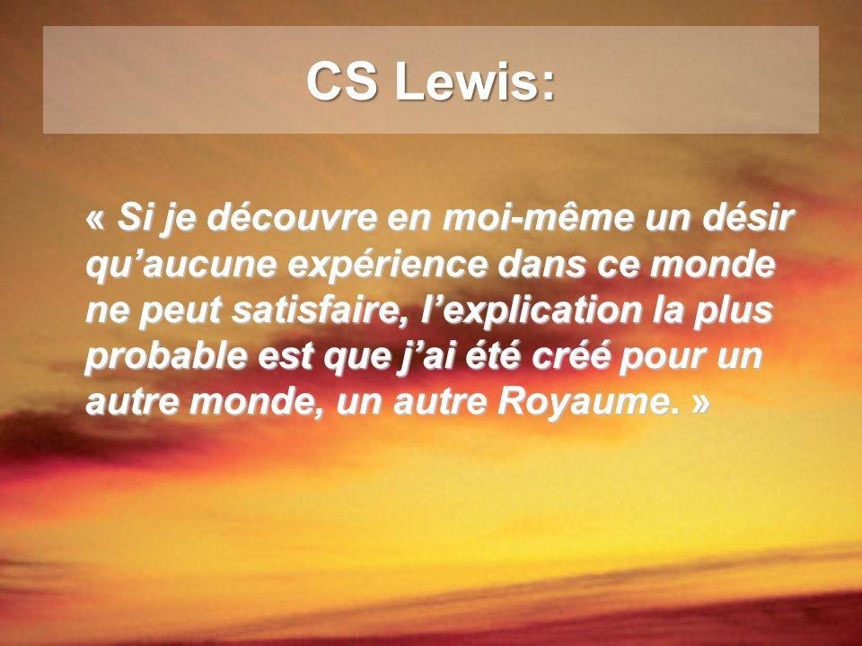 CS Lewis: