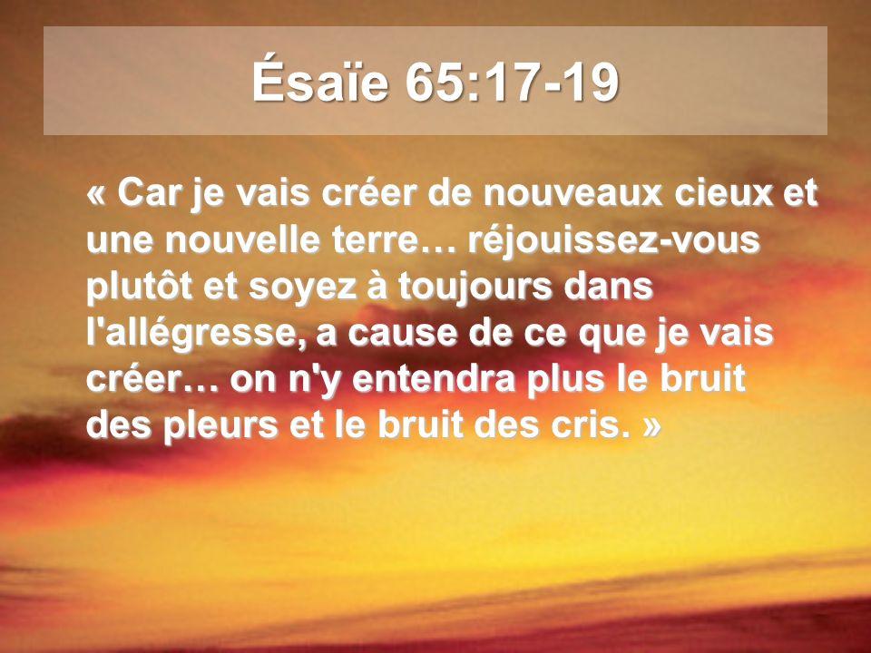 Ésaïe 65:17-19