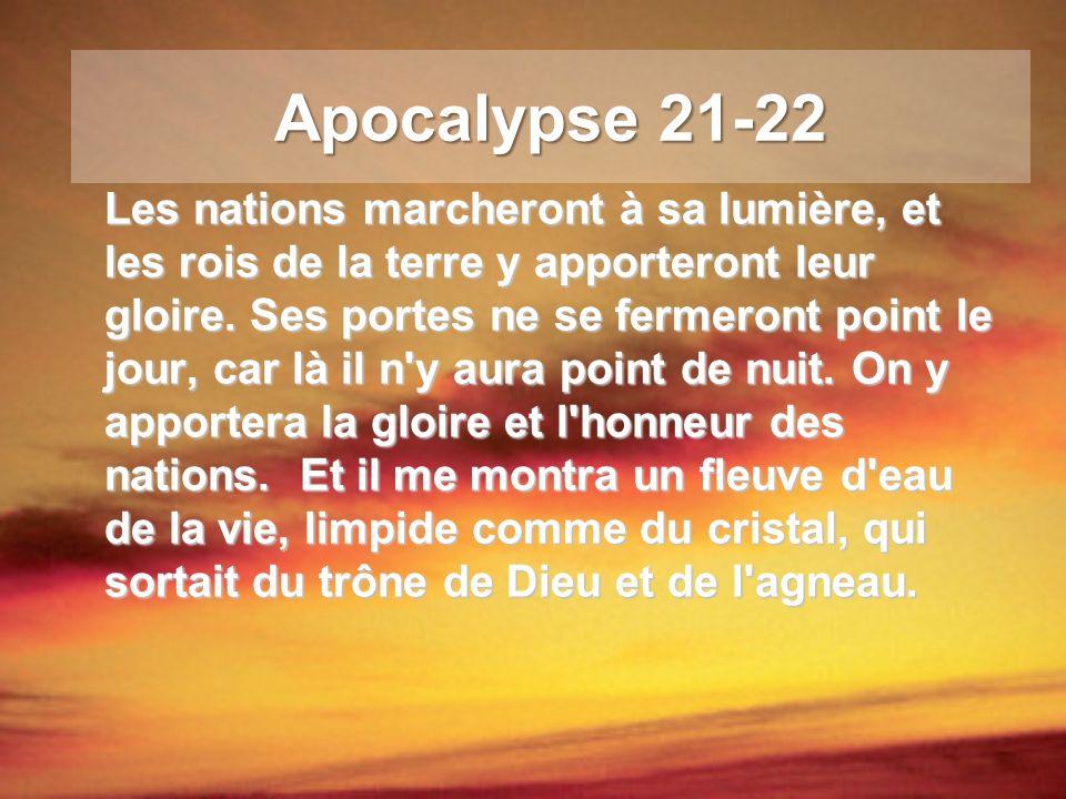 Apocalypse 21-22