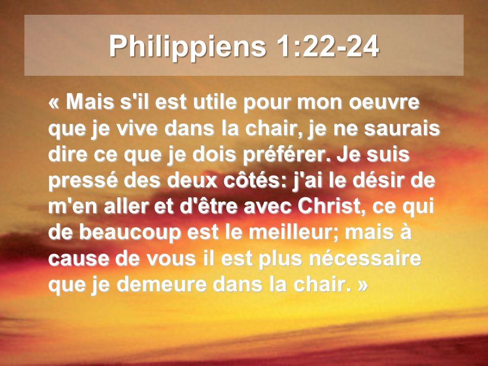 Philippiens 1:22-24