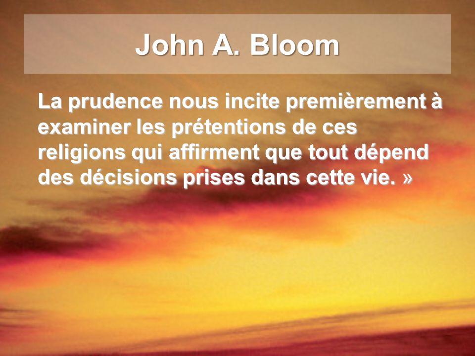 John A. Bloom