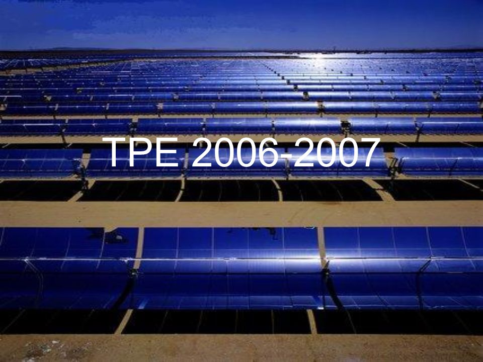 TPE 2006-2007