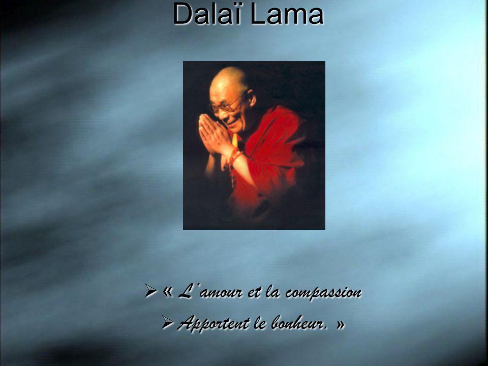 « L'amour et la compassion