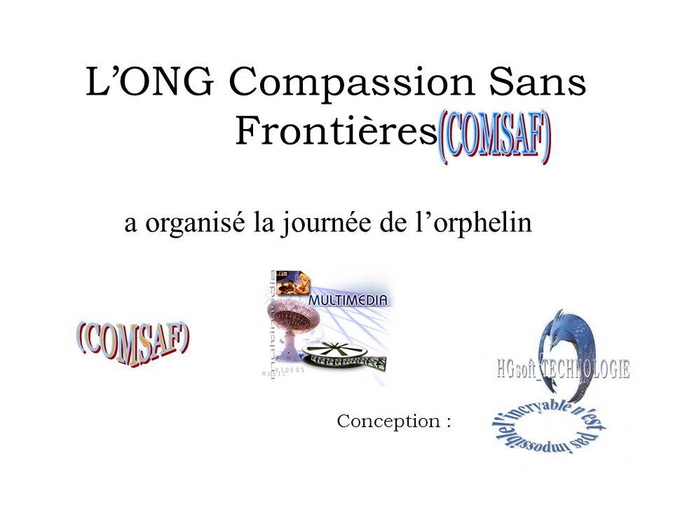 L'ONG Compassion Sans Frontières