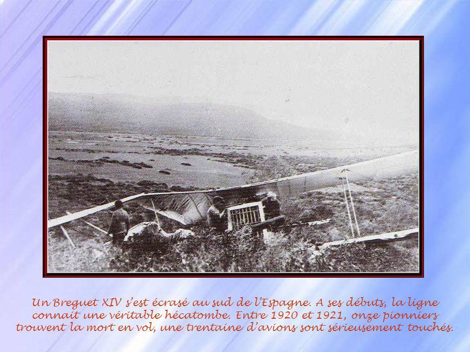 Un Breguet XIV s'est écrasé au sud de l'Espagne