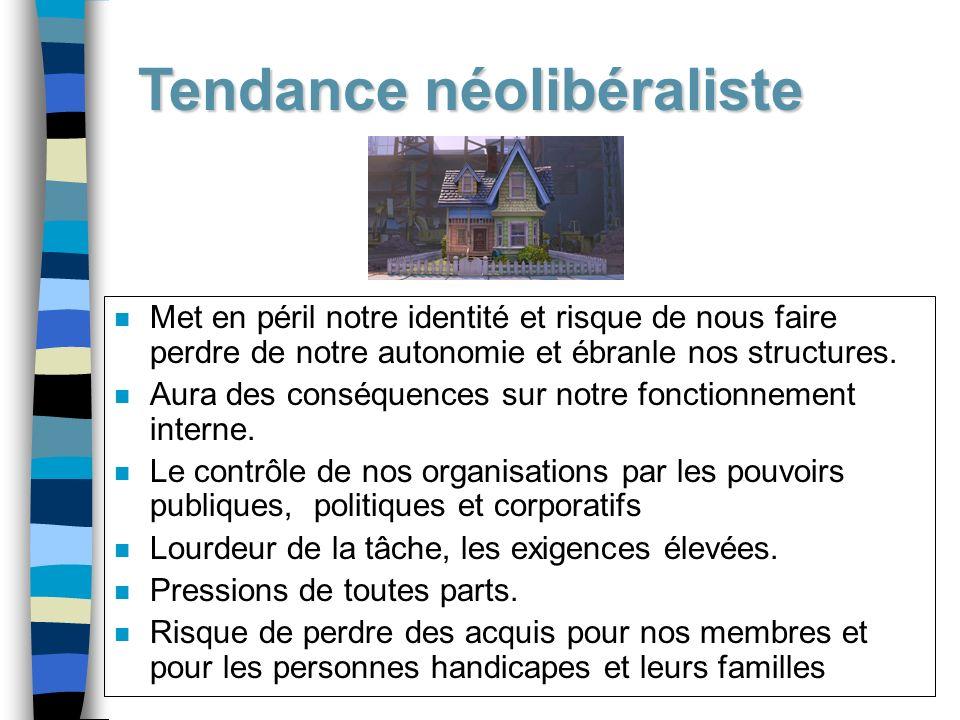 Tendance néolibéraliste