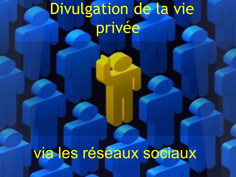 Divulgation de la vie privée
