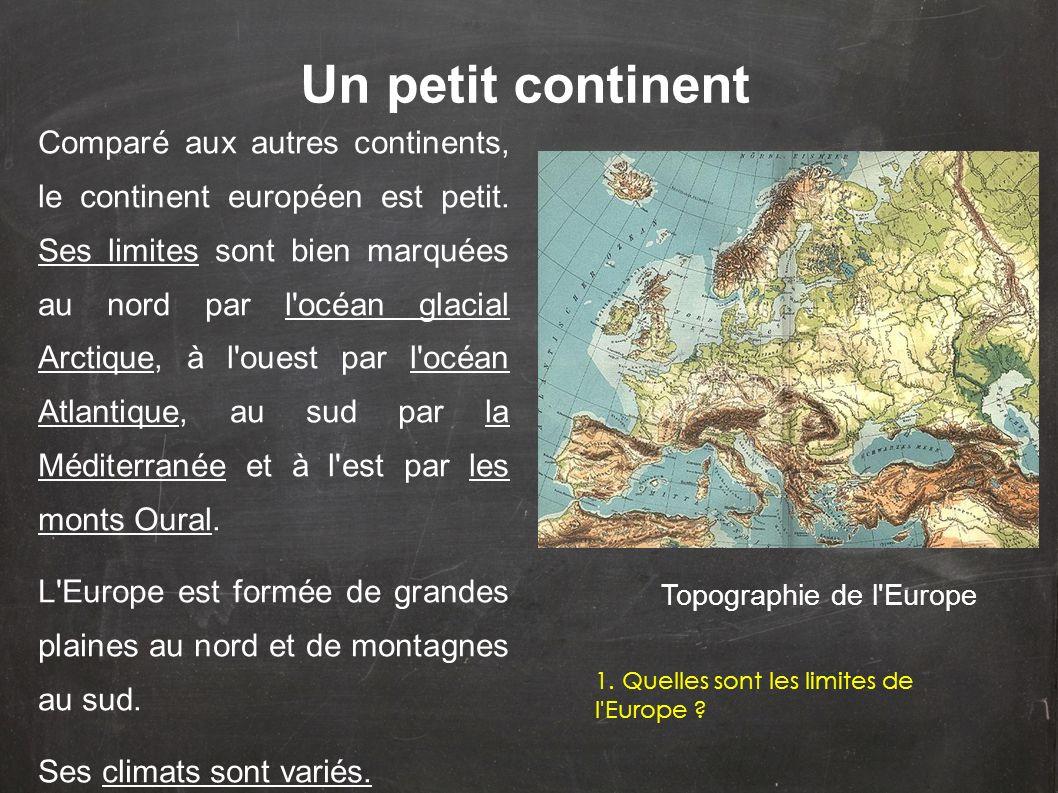 Un petit continent