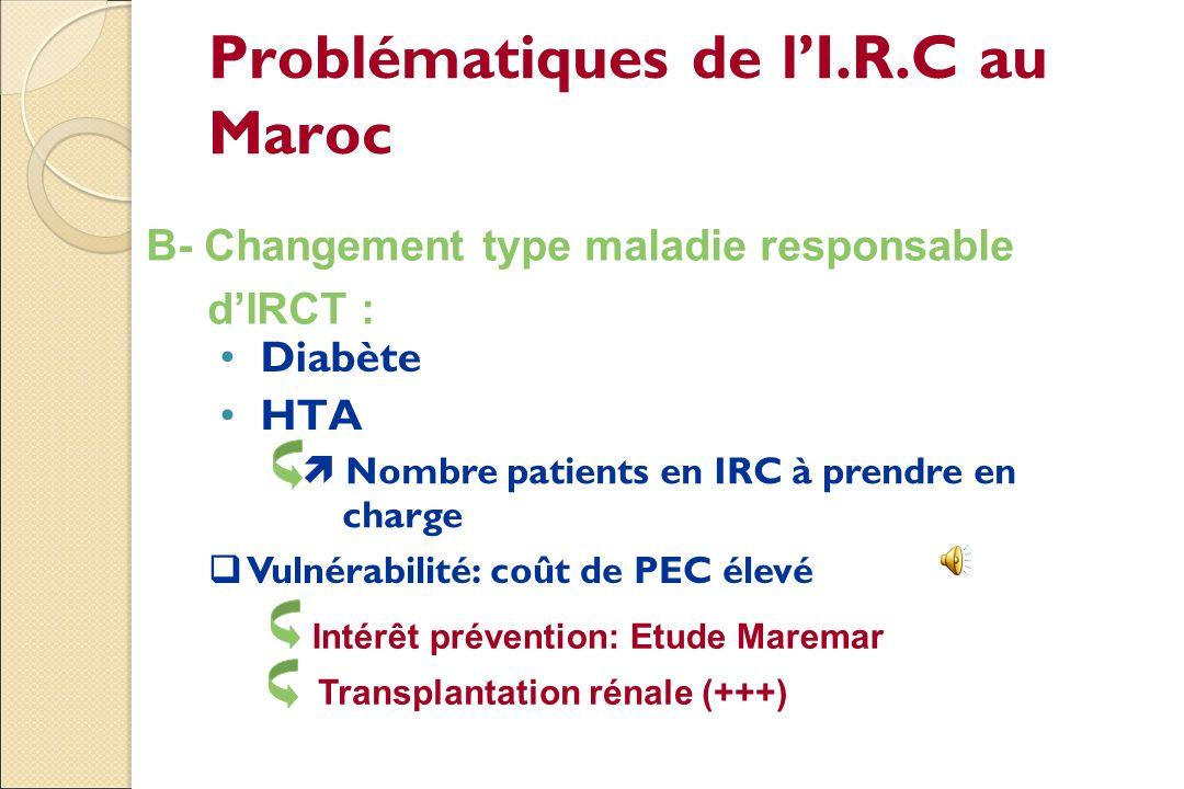 Problématiques de l'I.R.C au Maroc