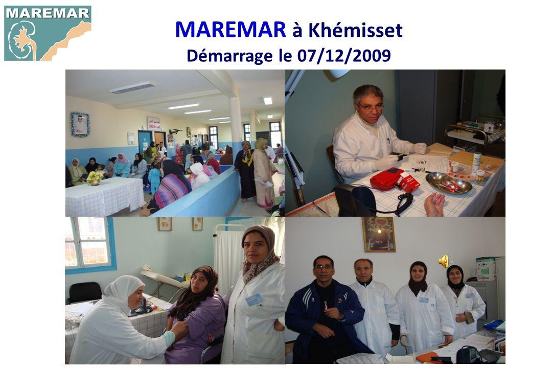 MAREMAR à Khémisset Démarrage le 07/12/2009