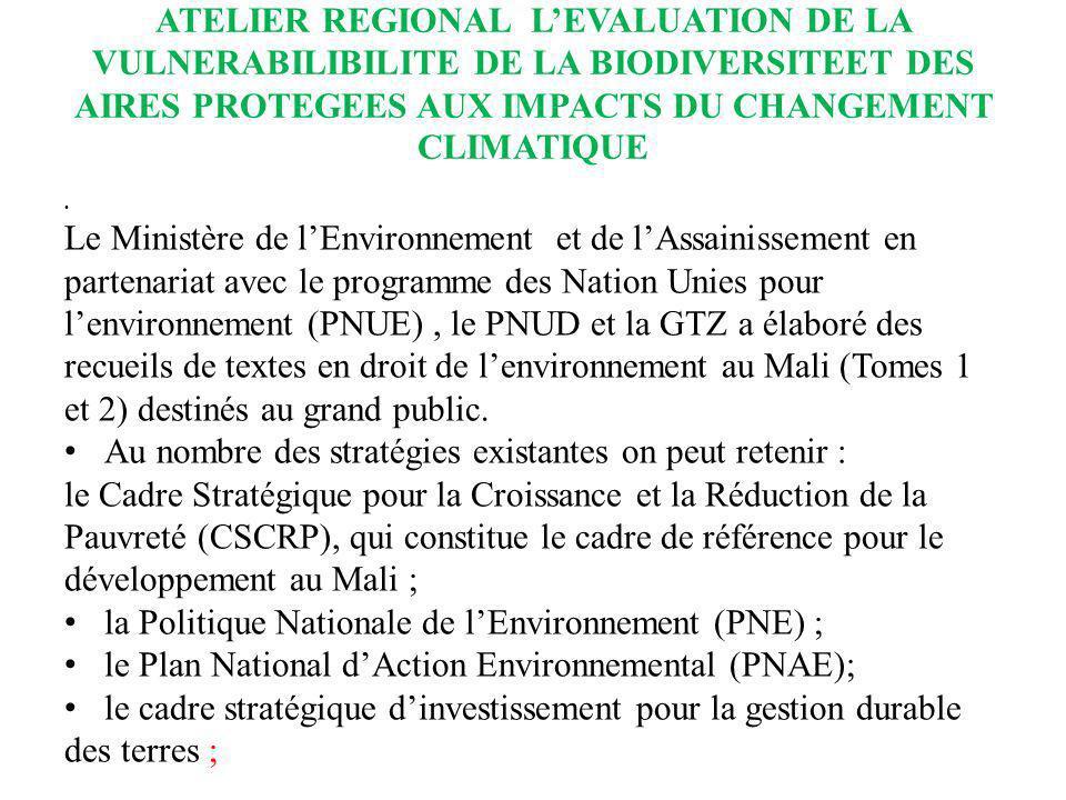 Le Ministère de l'Environnement et de l'Assainissement en