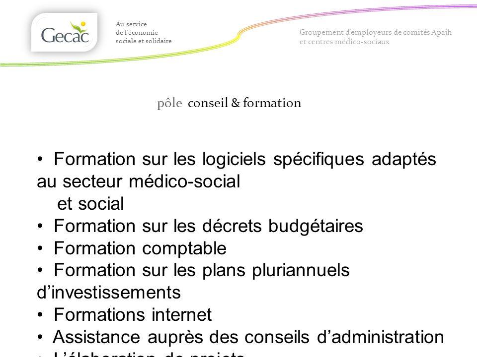 Formation sur les décrets budgétaires Formation comptable