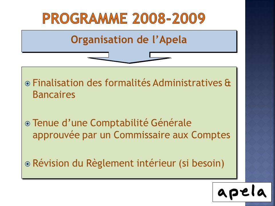 Organisation de l'Apela
