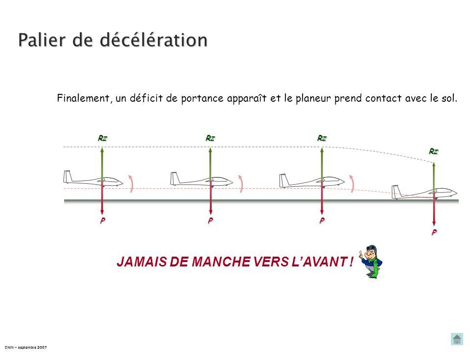 JAMAIS DE MANCHE VERS L'AVANT !