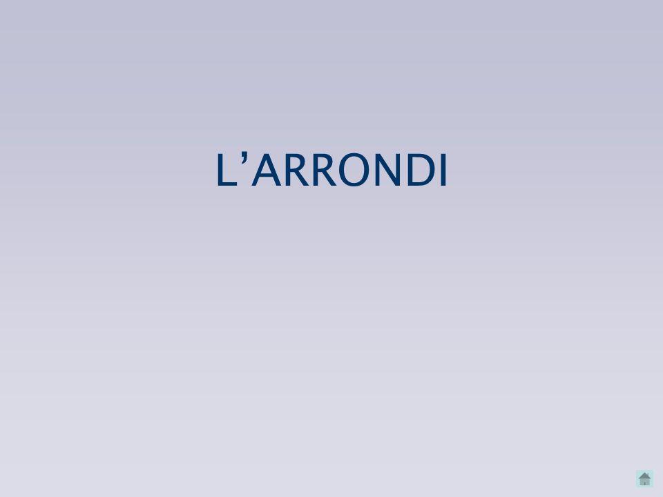L'ARRONDI