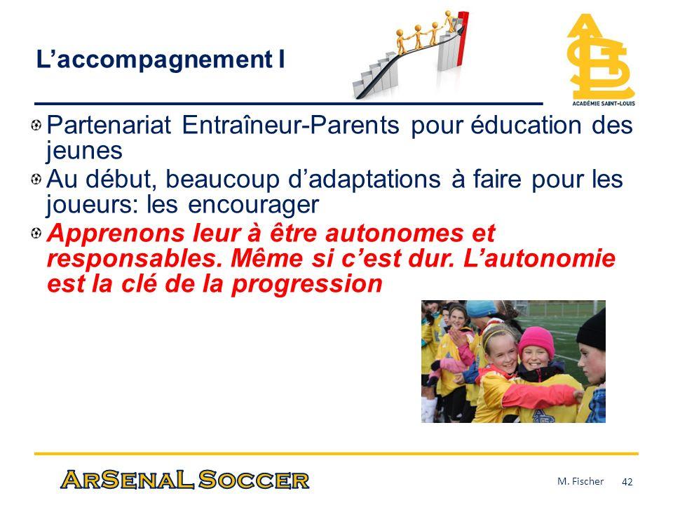 Partenariat Entraîneur-Parents pour éducation des jeunes