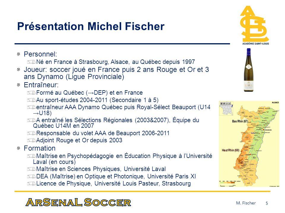 Présentation Michel Fischer