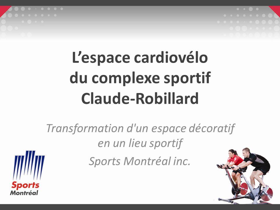 L'espace cardiovélo du complexe sportif Claude-Robillard