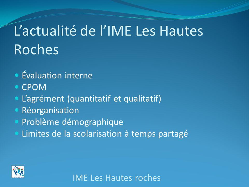 L'actualité de l'IME Les Hautes Roches
