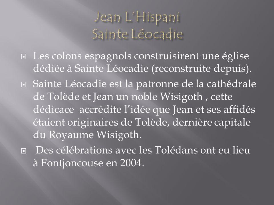 Jean L'Hispani Sainte Léocadie