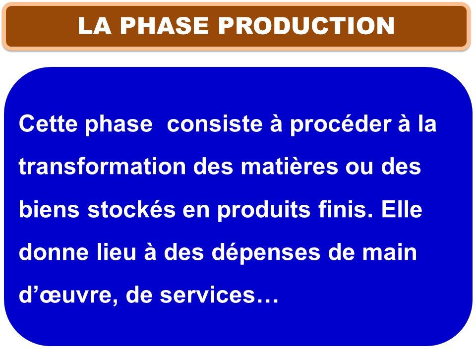 LA PHASE PRODUCTION