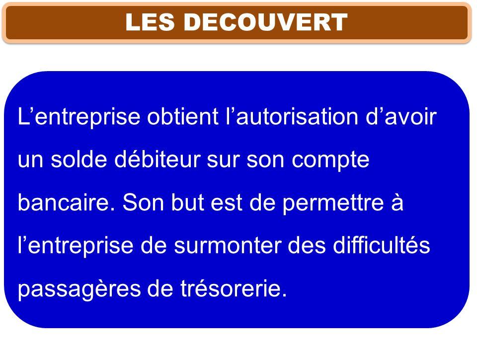 LES DECOUVERT