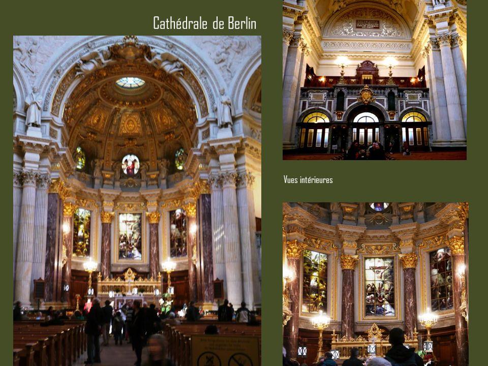 Cathédrale de Berlin Vues intérieures
