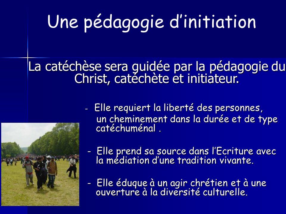 Une pédagogie d'initiation