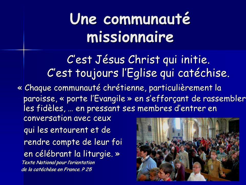 Une communauté missionnaire