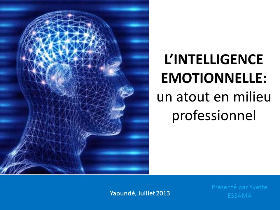 L'INTELLIGENCE EMOTIONNELLE: