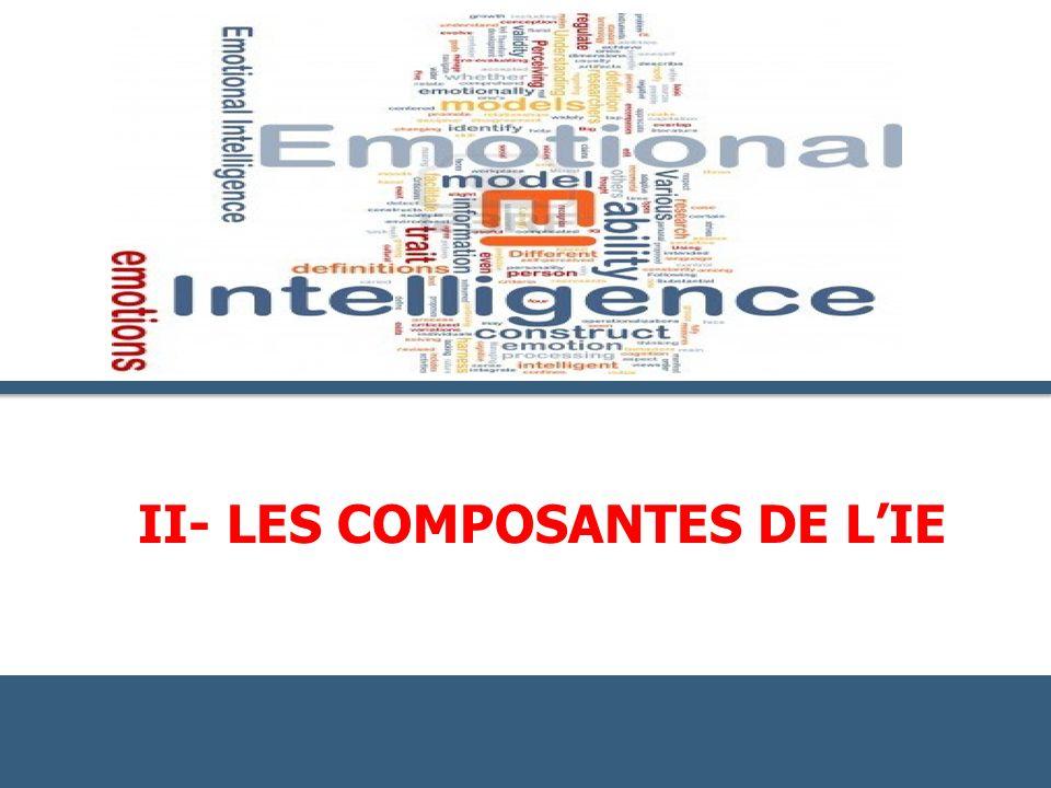 II- LES COMPOSANTES DE L'IE