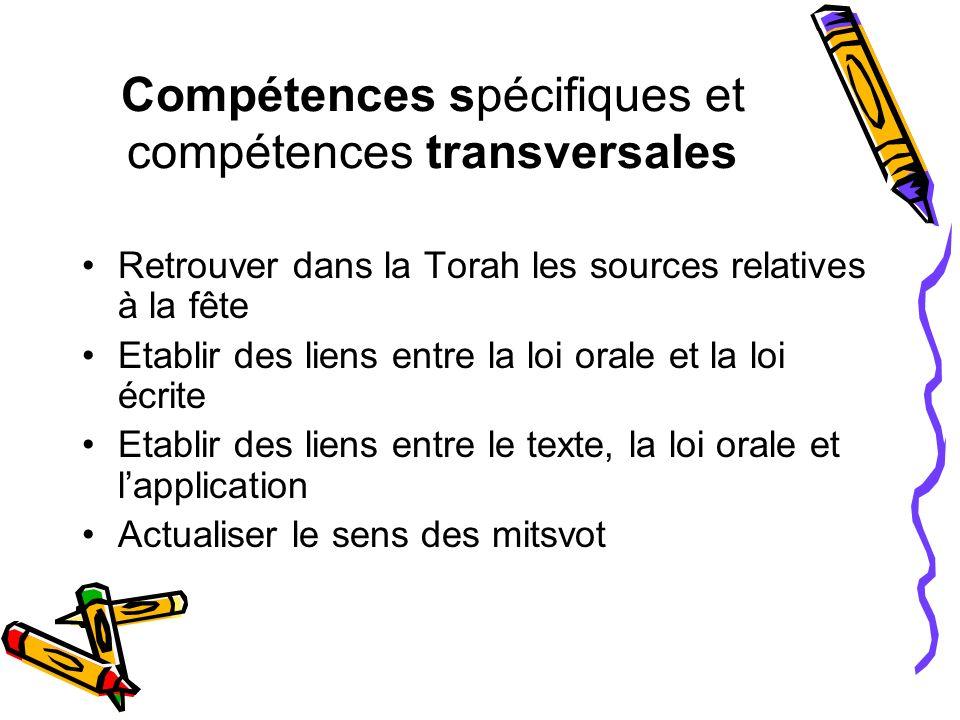 Compétences spécifiques et compétences transversales