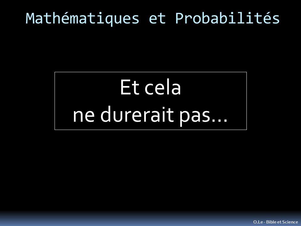 Mathématiques et Probabilités