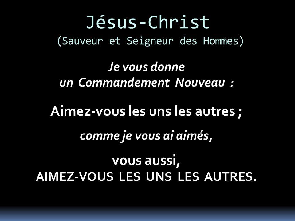 Jésus-Christ (Sauveur et Seigneur des Hommes)