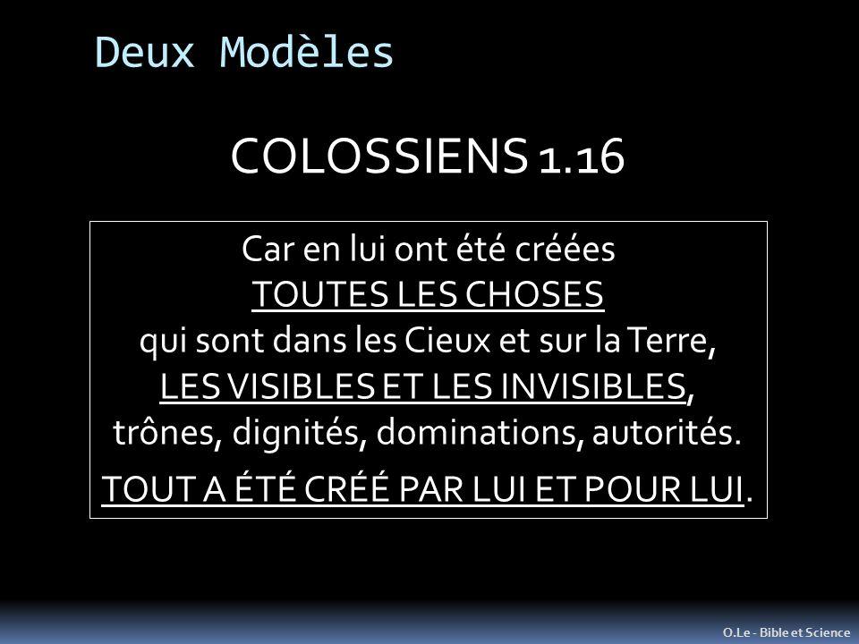 COLOSSIENS 1.16 Deux Modèles Car en lui ont été créées