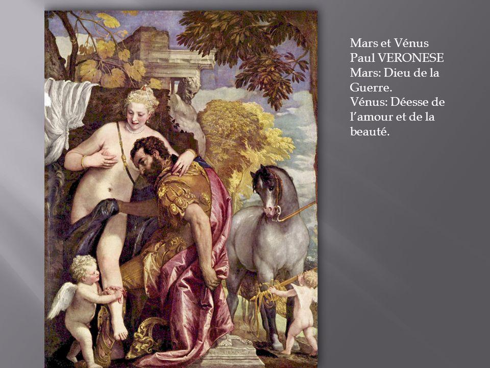 Mars et Vénus Paul VERONESE
