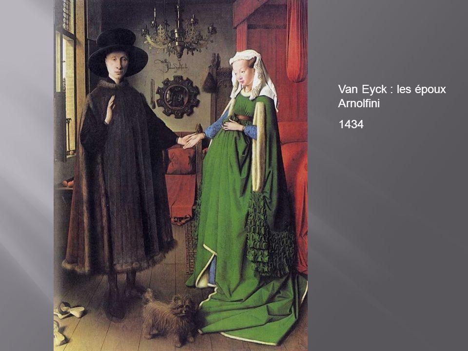 Van Eyck : les époux Arnolfini