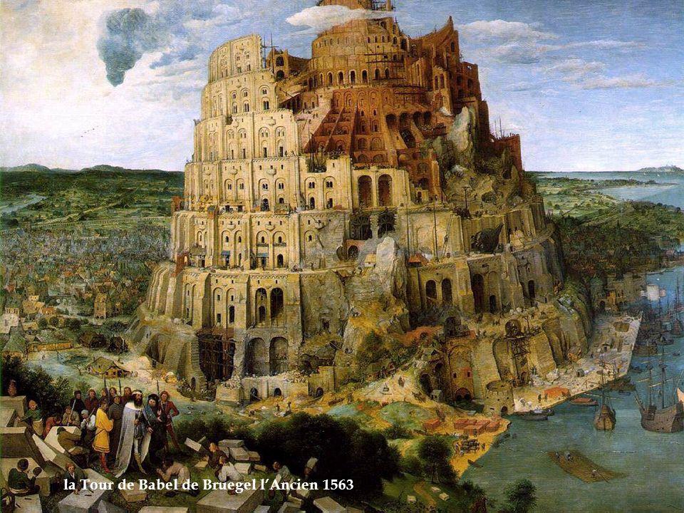 la Tour de Babel de Bruegel l'Ancien 1563