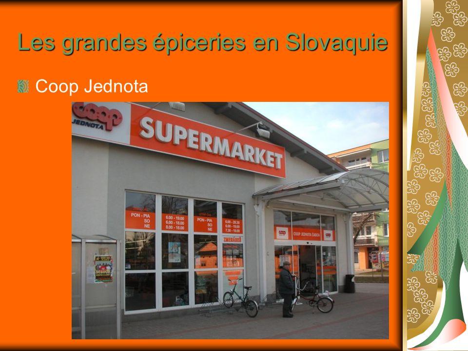 Les grandes épiceries en Slovaquie
